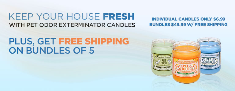 Pet Odor Exterminator Candles